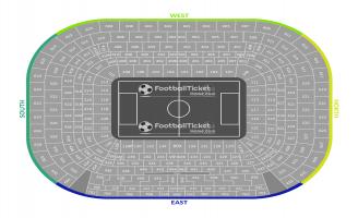 Estadio Santiago Bernabeu Seating Chart