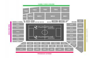 Goodison Park Seating Chart
