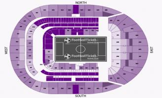 Tottenham Hotspur Stadium Seating Chart