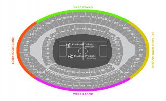 London Olympic Stadium Seating Chart